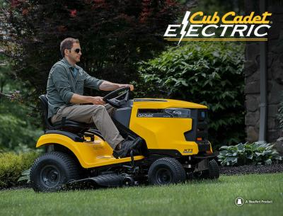 CUB CADET ELECTRIC