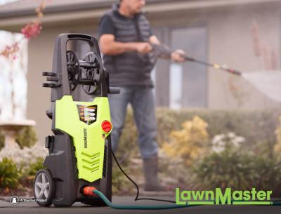 Spring Clean with LawnMaster Pressure Cleaners